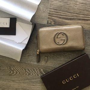 Gucci Soho Cellarius Metall Wallet